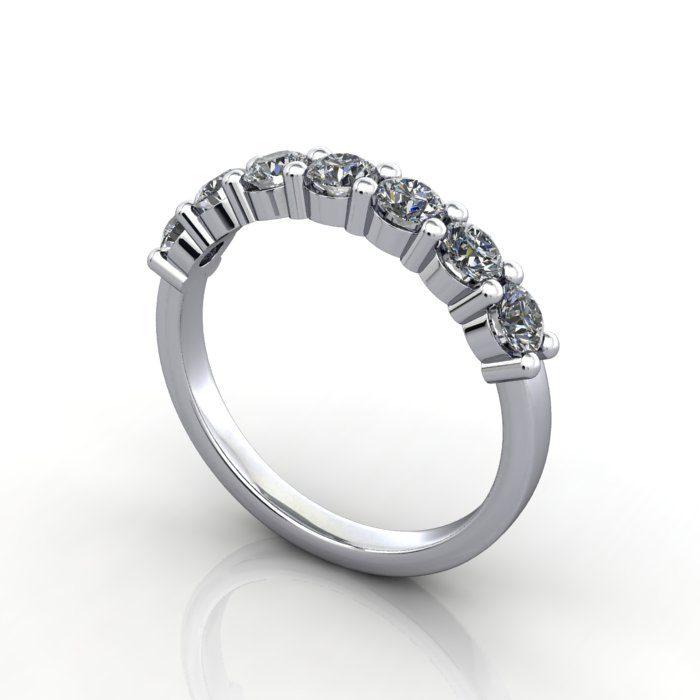 Platinum Anniversary Ring