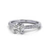 Diamond Ring, White Gold, RSA1R, LF