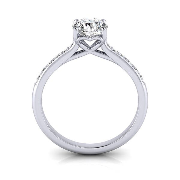Diamond Ring, White Gold, RSA1R, TF