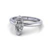 Marquise Engagement Ring, Platinum, RS5, LF