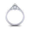 Marquise Engagement Ring, Platinum, RS5, TF