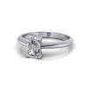 Radiant Engagement Ring, Platinum, RS6 LF