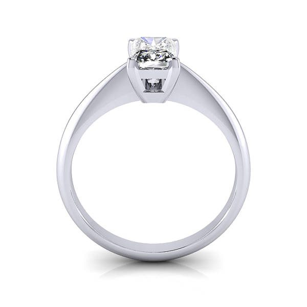Radiant Engagement Ring, Platinum, RS6 TF