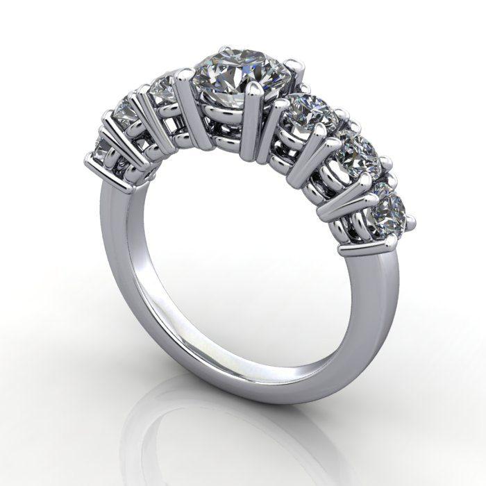 Multiple Diamond Rings