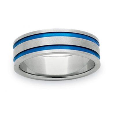 Titanium Wedding Ring PD282