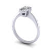 Video Radiant Engagement Ring, Platinum, RS6 3D