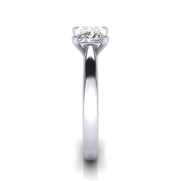 Engagement Ring, RS11, White Gold, SV