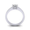 Engagement Ring, RS11, White Gold, TF
