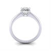 Engagement Ring, Princess Cut, RS14, White Gold, TF