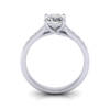 Engagement Ring, Princess Cut, RSA2, White Gold, TF
