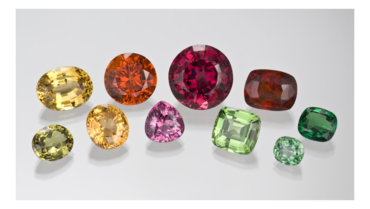The Many Colours of Garnet