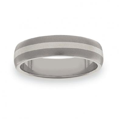 Titanium Wedding Ring PD209