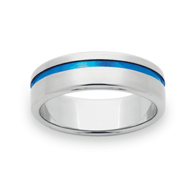 Titanium Wedding Ring PD281