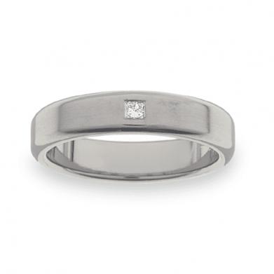 Titanium Wedding Ring PD466