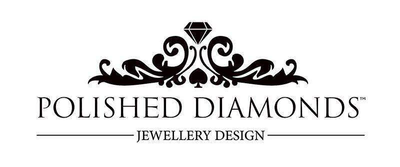 Polished Diamonds Jewellery Design Logo