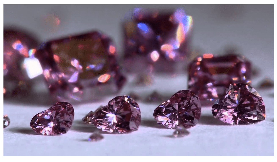 Information About Pink Diamonds