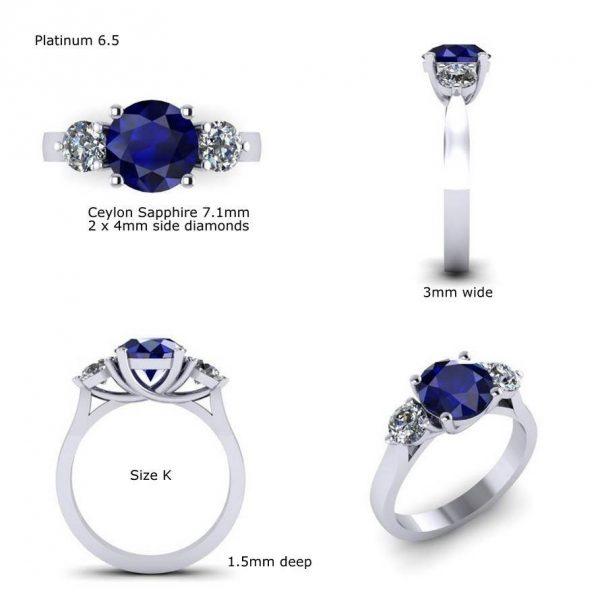 Sapphire Ring Design