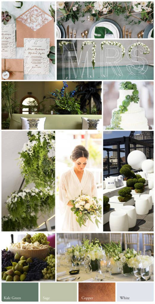Wedding colours and styles, Summer Botanica