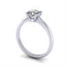 Video, Engagement Ring, Princess Cut, RS14, White Gold