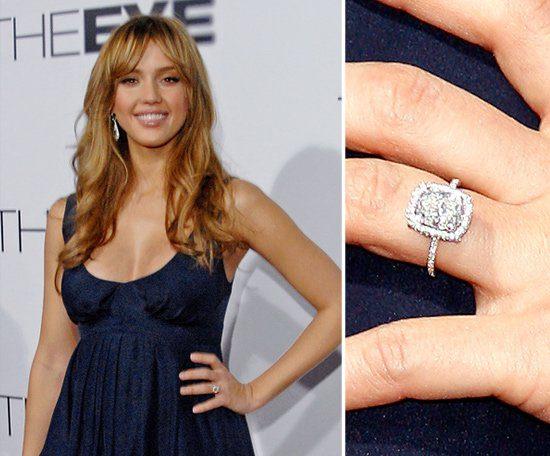 Jessica Alba - Wedding Ring