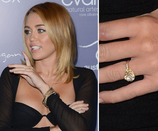Wedding Ring of Miley Cyrus