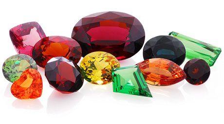 Colours of Garnet