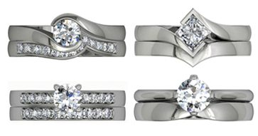 Engagement ring sets
