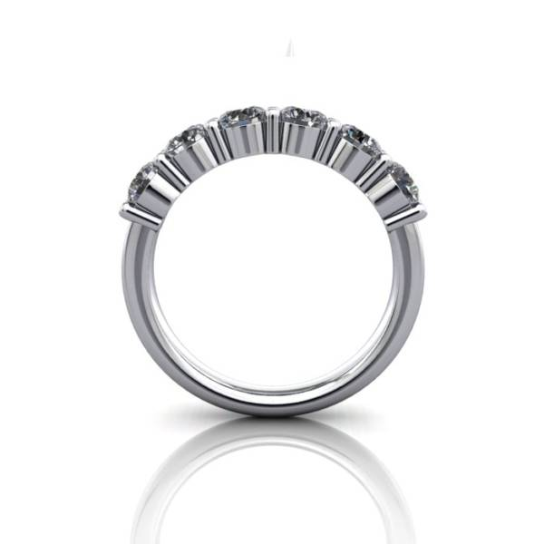 Anniversary Ring, RA2, White Gold, BE