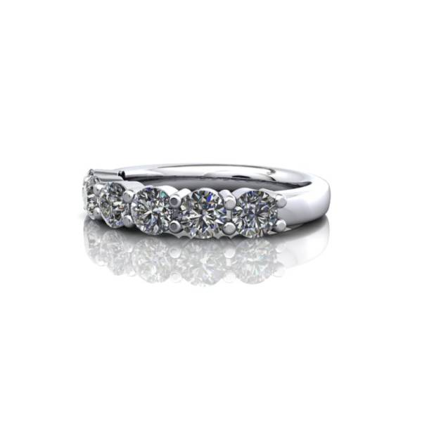 Anniversary Ring, RA2, White Gold, LF