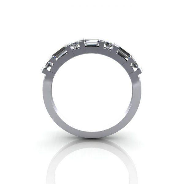 Anniversary Ring, RA3, White Gold, BE