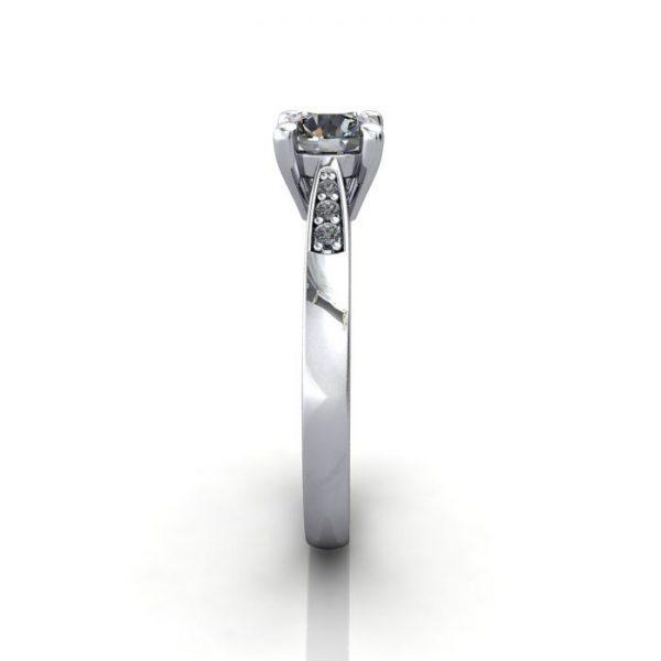 Diamond Ring, RSA17, White Gold, SV