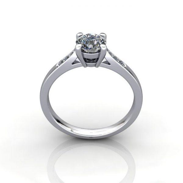 Diamond Ring, RSA17, White Gold, TF