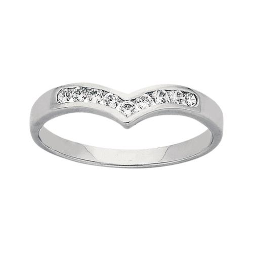Diamond Wedding Ring PD296