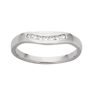 Ladies Wedding Ring PD814 Platinum
