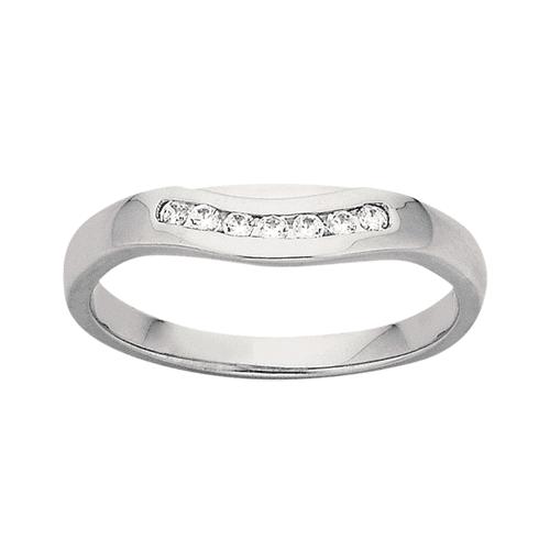 Ladies Wedding Ring PD814 Platinum