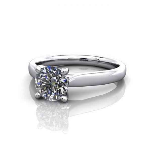 Diamond Ring, RS41,White Gold,LF