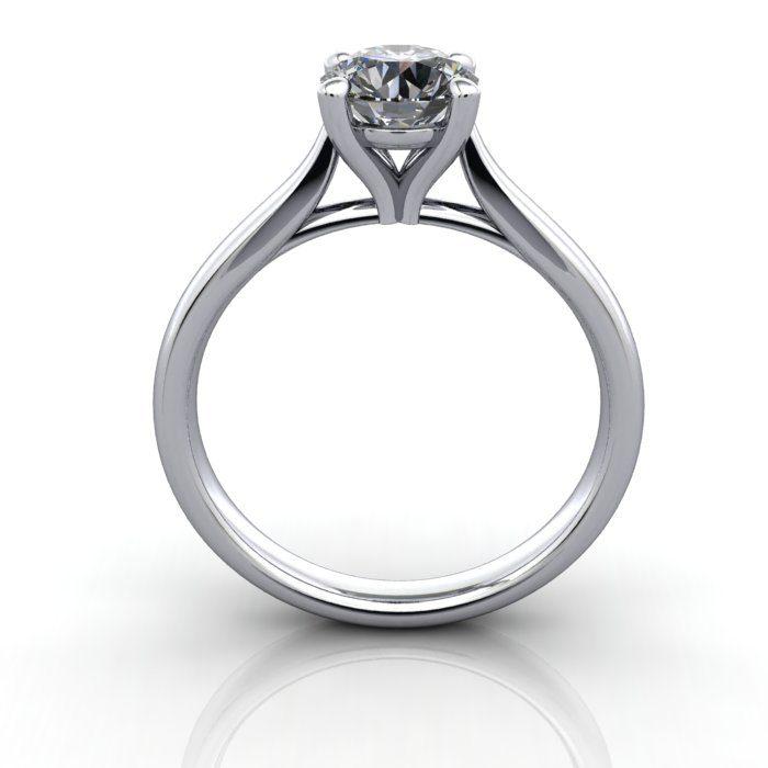 Diamond Ring, RS41,White Gold,TF