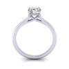 Engagement Ring RS1, Round, Platinum, TF