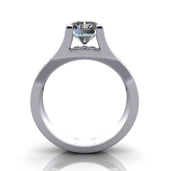 MultiStone Diamond Ring, PDM1, Platinum, TF